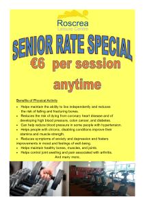 senior rate special