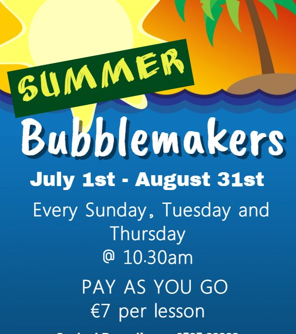 Bubblemakers – Pay as you go