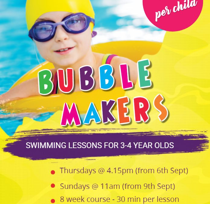 Bubblemakers September 2018
