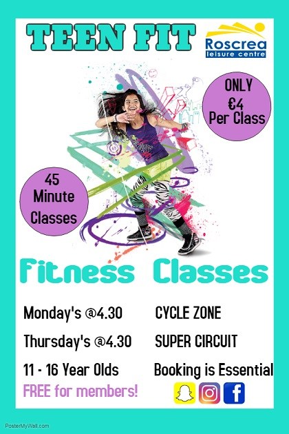 Teen Fit  – Fitness Classes