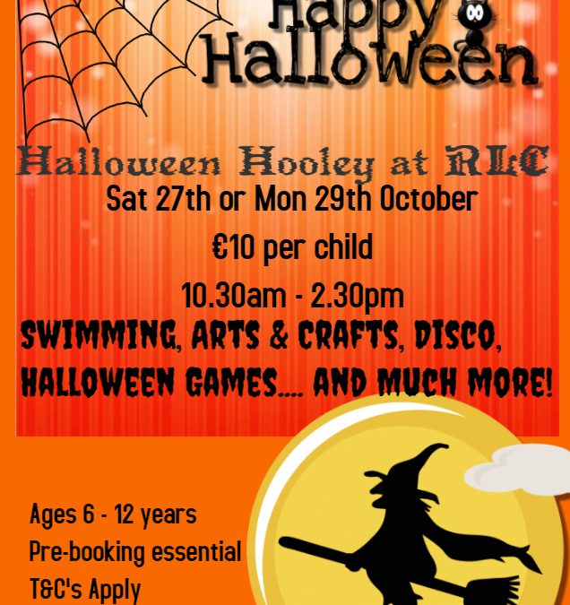 HALLOWEEN HOOLEY @ RLC