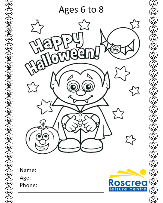 Halloween Coloring Competition