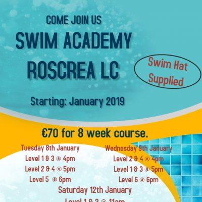 New Swim Academy January 2019