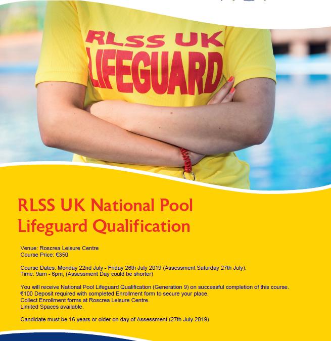 Lifeguard Course July 2019