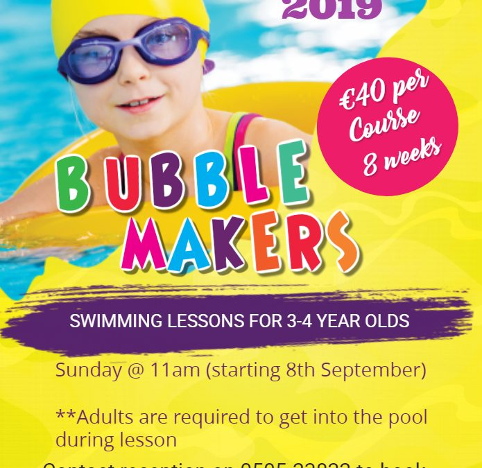 Bubblemakers September 2019