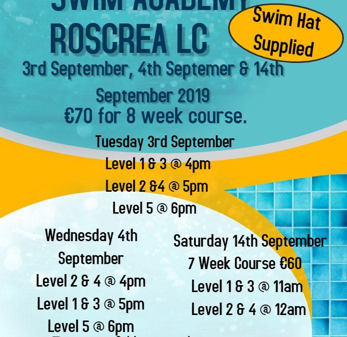 Swim School September 2019