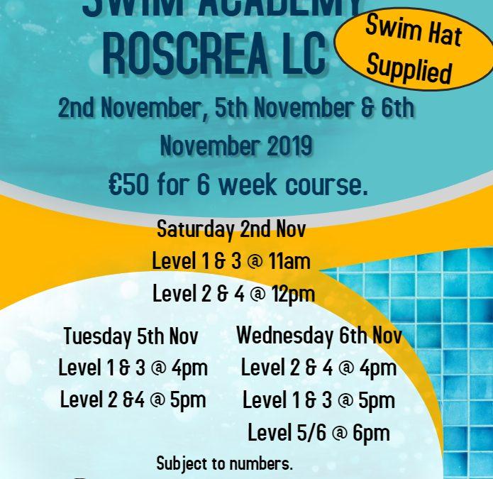 Swim School November 2019