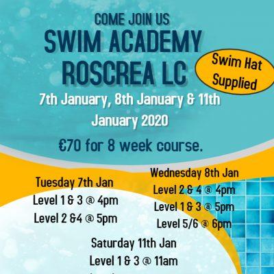 Swim School January 2020
