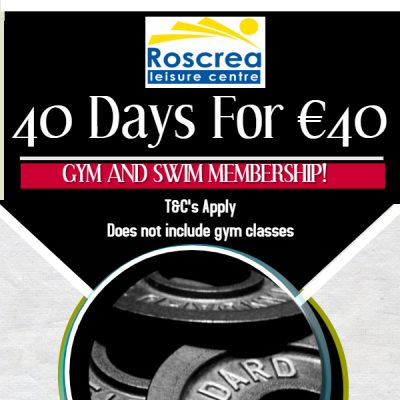 40 Days For €40