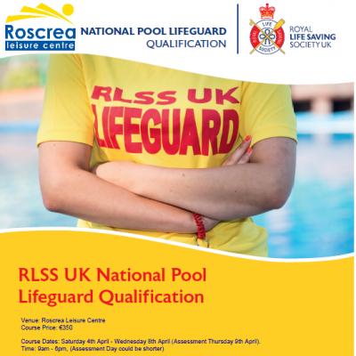 Lifeguard Course April 2020