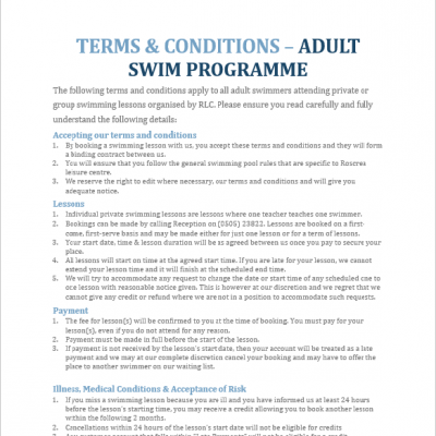 Terms & Conditions – Adult Swim Programme